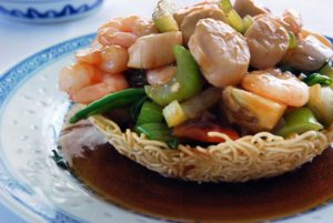 Shrimp and Mixed Vegetables
